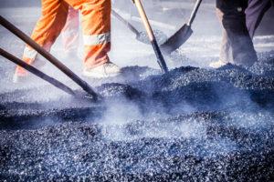manual work - asphalt